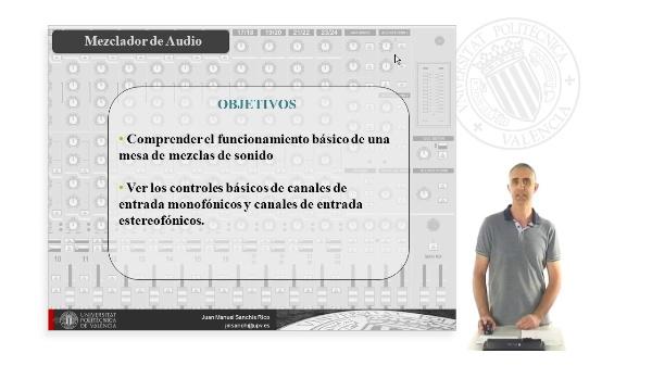 Mesa de Mezclas de Sonido - Funcionamiento Básico