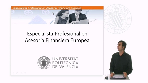 Especialista Profesional en Asesoría Financiera Europea