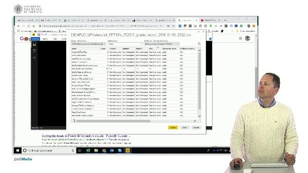 MOOC Power BI. Importar ficheros csv con distinta configuración regional, sustituir valores