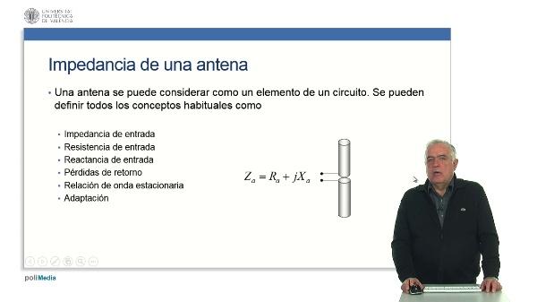 Impedancia de antenas.