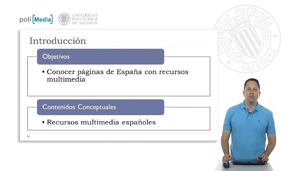 Recursos educativos multimedia España