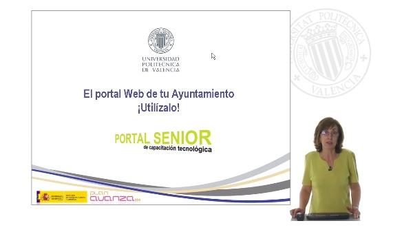 El portal Web de tu Ayuntamiento ¡Utilízalo!