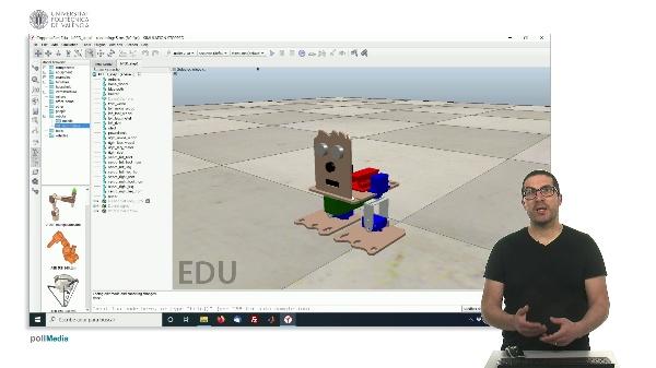 CoppeliaSim (V-REP): Creando robot bPED (Paso 1).
