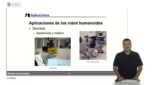 Robots humanoides: aplicaciones