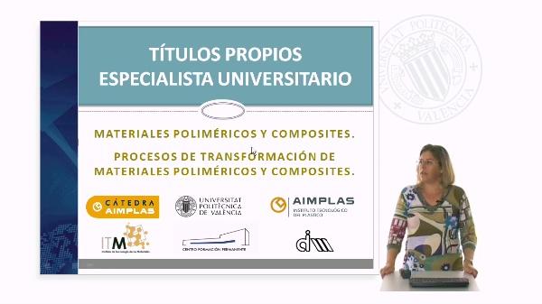 Especialista Universitario en Materiales Poliméricos y Composites y sus procesos de transformación.