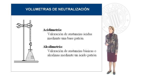 Volumetrías de Neutralización