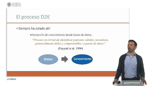 Vídeo1F. El proceso D2K.