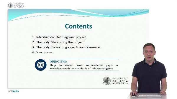 Academic projects in English