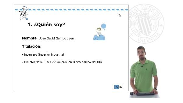 Profesor José David Garrido Jaén