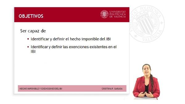 HECHO IMPONIBLE Y EXENCIONES DEL IMPUESTO SOBRE BIENES INMUEBLES (IBI)