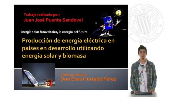 Producción de energía eléctrica en paises en desarrollo
