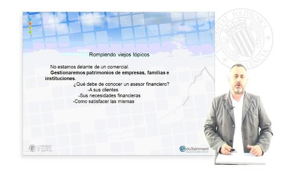 AFE: Introducción al asesoramiento financiero