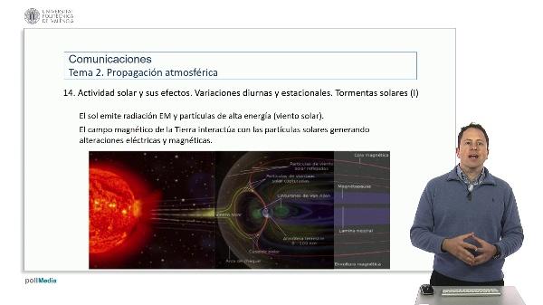 Introducción a las radiocomunicaciones. Efectos de la actividad solar y otras fuentes de alta energía
