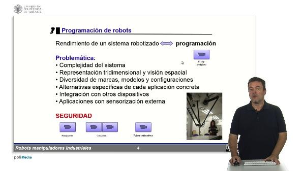 RMIs - métodos de programación de robots