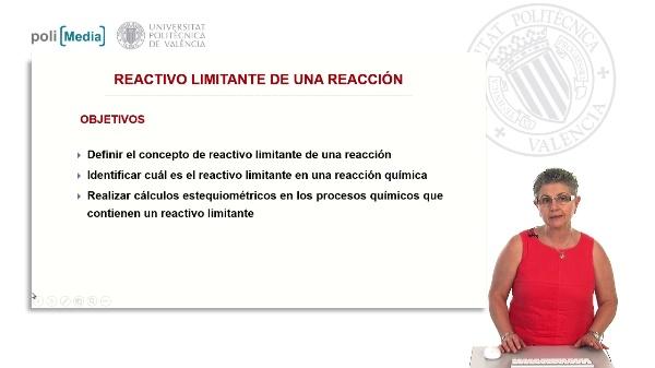 Reactivo limitante de una reacción