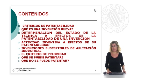 Distinción entre lo patentable y no patentable