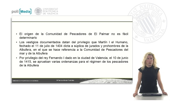 Orígenes de la Comunidad de Pescadores de El Palmar