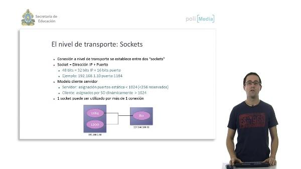 TCP/IP. Nivel de transporte y aplicación