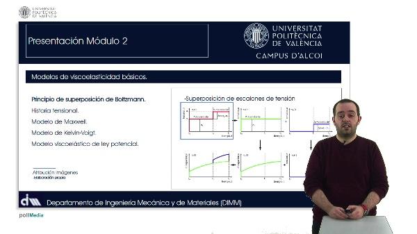 Viscoelasticidad y comportamiento mecánico-dinámico de materiales poliméricos. Modelización: Modelos de viscoelasticidad básicos