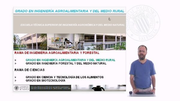 Grado en Ingeniería  Agroalimentaria y del Medio Rural