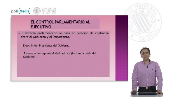 El control parlamentario (I)
