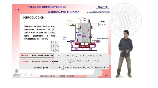 Pilas de combustible de carbonato fundido (MCFC)