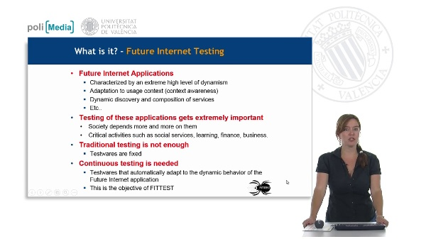 Future Internet Testing. FITTEST