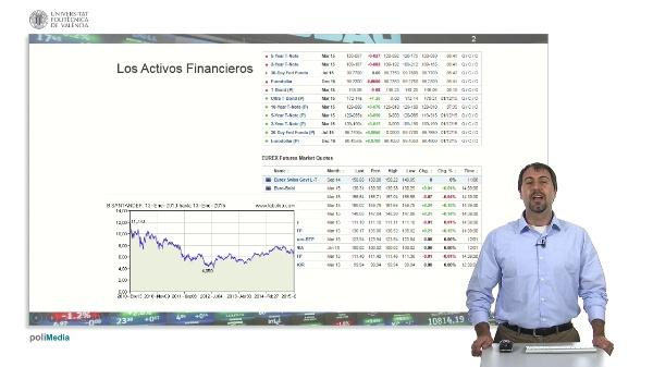 Activos Financieros: Acciones, indices y bonos