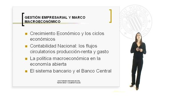 Gestión Empresarial y marco Macroeconómico
