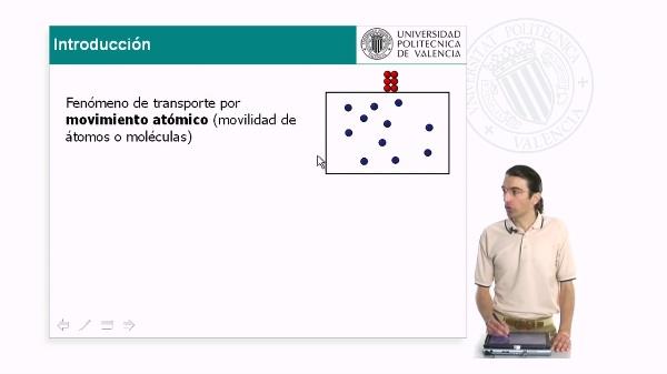 Introducción a la difusión en estado sólido. 1ª Ley de Fick
