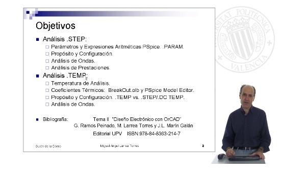 Prontuario de OrCAD. PSpice: MultiAnálisis (y II)