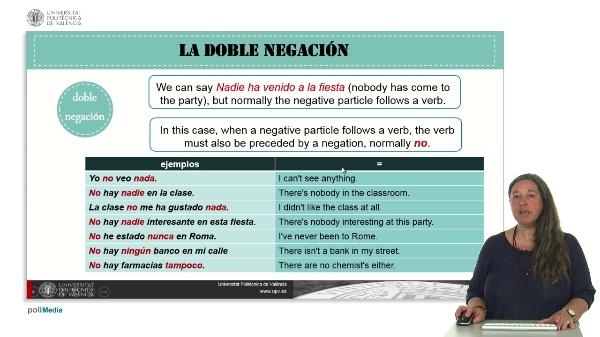 La doble negación