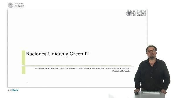 Naciones Unidas y Green IT.
