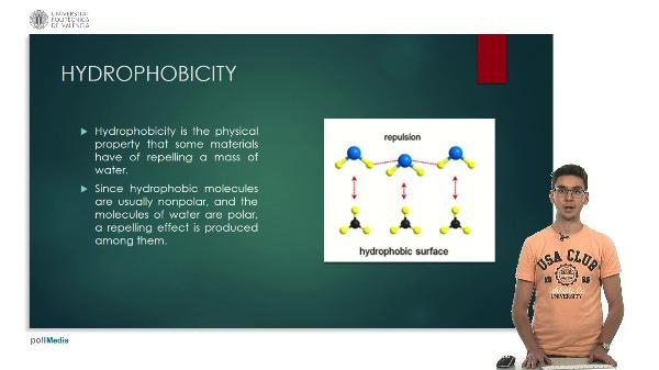 Hidrophobicity. Jorge Chinchón