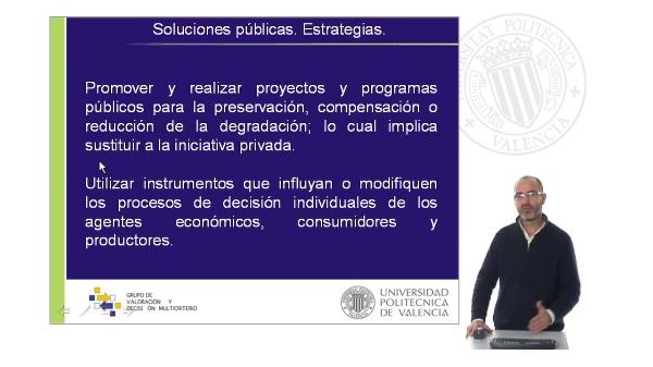 Externalidades: Soluciones Públicas