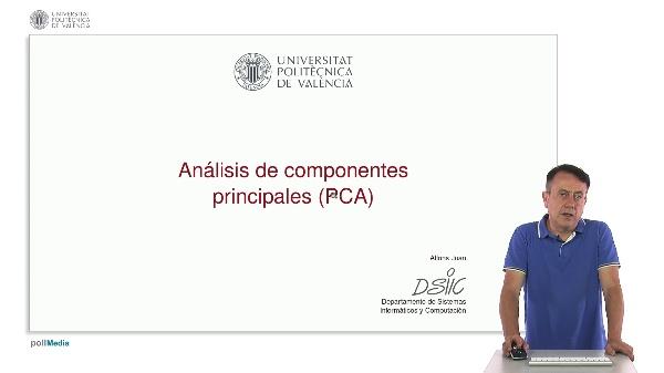 Análisis de componentes principales (PCA)