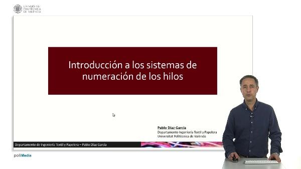 Introducción a los sistemas de numeración de los hilos