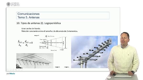 Introducción a las radiocomunicaciones. Antenas logoperiódicas