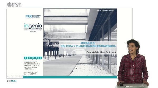 Presentación Módulo 5: Política y planificación estratégica
