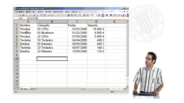 Tratamiento de datos mediante el formulario