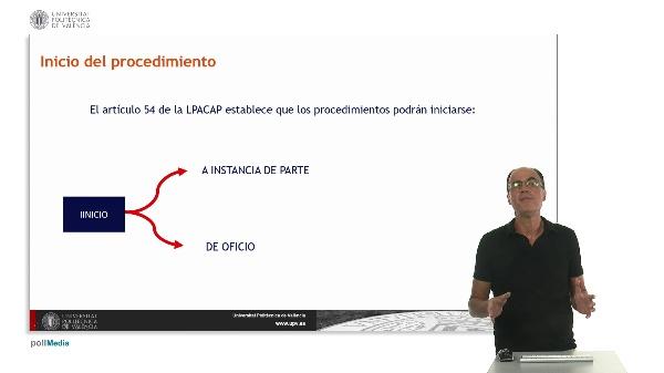 Módulo 5. La iniciación del procedimiento: Presentación de solicitudes y Registro General. Sesión 1.