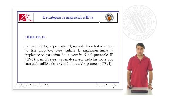 Estrategias de migracion a IPv6