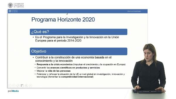 Programa marco de la Unión Europea Horizonte 2020