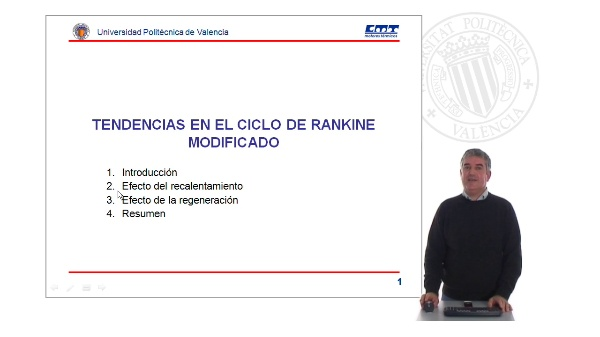 Tendencias en el ciclo de Rankine Modificado