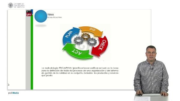 Unidad didáctica. El ciclo PDCA / PHVA. Las etapas del ciclo PDCA