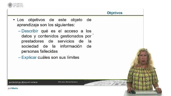 El acceso a los datos y contenidos gestionados por prestadores de servicios de la sociedad de la información de personas fallecidas: análisis de los límites