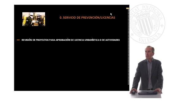 Aplicación del CTE, DB Seguridad en caso de incendio en las licencias municipales I