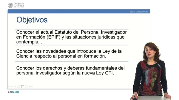 Estatuto del Personal Investigador en Formación