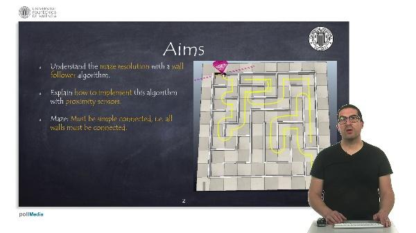 Mobile Robotics: Maze solver with a wall follower algorithm