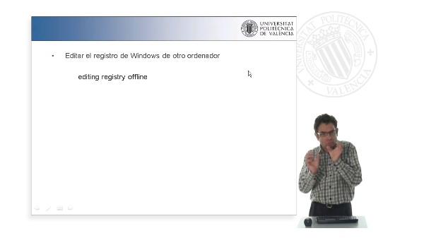 Ejercicio práctico: Cómo editar el registro de Windows de otro ordenador